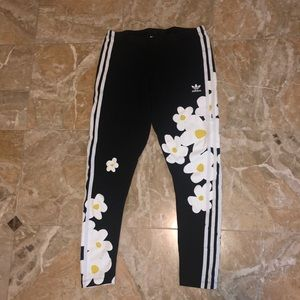 Adidas Flowery Leggings!